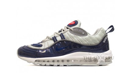 Air Max 97 КРОССОВКИ МУЖСКИЕ<br/> NIKE AIR MAX 97 SUPREME BLUE GLOSS GRAY