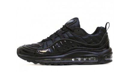 Air Max 97 КРОССОВКИ МУЖСКИЕ<br/> NIKE AIR MAX 97 SUPREME BLACK GLOSS