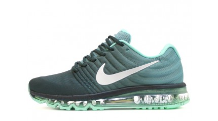 Air Max 2017 КРОССОВКИ МУЖСКИЕ<br/> NIKE AIR MAX 2017 DARK GRAY MINT