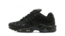Nike Air Max TN Plus Black stern classic черные