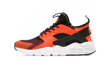 Huarache КРОССОВКИ МУЖСКИЕ<br/> NIKE AIR HUARACHE ULTRA BR ORANGE BLACK