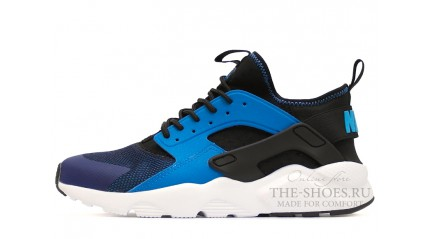 Huarache КРОССОВКИ МУЖСКИЕ<br/> NIKE AIR HUARACHE ULTRA BR BLUE BLACK