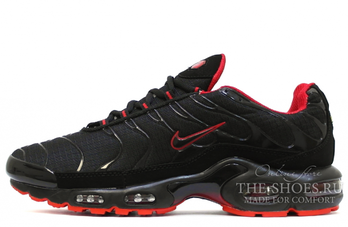 Кроссовки Nike Air Max TN Plus Black Sole Red