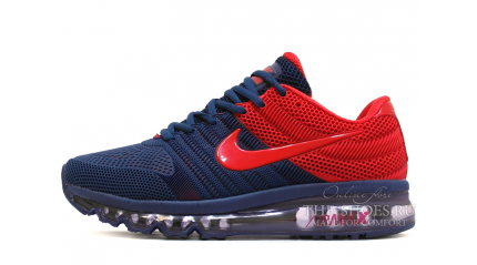 Air Max 2017 КРОССОВКИ МУЖСКИЕ<br/> NIKE AIR MAX 2017 KPU BLUE DEEP RED