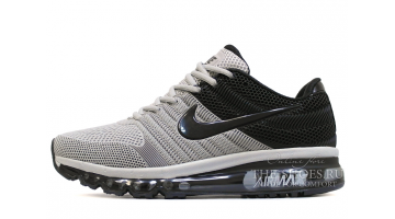 Кроссовки Мужские Nike Air Max 2017 KPU Steel Gray Black