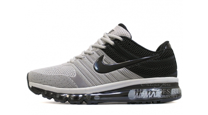 Air Max 2017 КРОССОВКИ МУЖСКИЕ<br/> NIKE AIR MAX 2017 KPU STEEL GRAY BLACK