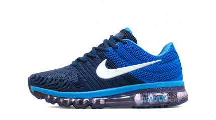 Air Max 2017 КРОССОВКИ МУЖСКИЕ<br/> NIKE AIR MAX 2017 KPU TWO-PLY BLUE