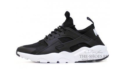 Huarache КРОССОВКИ МУЖСКИЕ<br/> NIKE AIR HUARACHE ULTRA BR BLACK WHITE