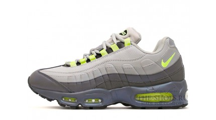 Air Max 95 КРОССОВКИ МУЖСКИЕ<br/> NIKE AIR MAX 95 TWO-PLY GRAY LEATHER