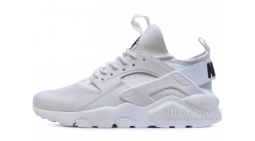 Кроссовки Мужские Nike Air Huarache Ultra BR Pure White