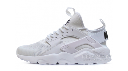 Huarache КРОССОВКИ МУЖСКИЕ<br/> NIKE AIR HUARACHE ULTRA BR PURE WHITE