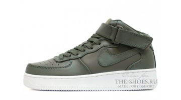Кроссовки Женские Nike Air Force 1 Mid Urban Haze Leather