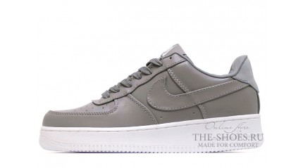 Nike Air Force 1 Low Light Charcoal Leather
