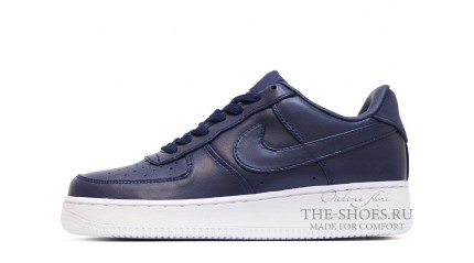 Nike Air Force 1 Low Concord Blue Leather