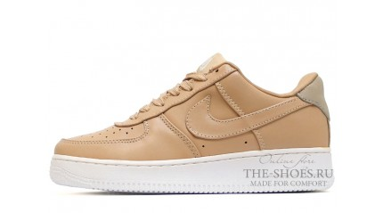 Nike Air Force 1 Low Vachetta Tan Leather