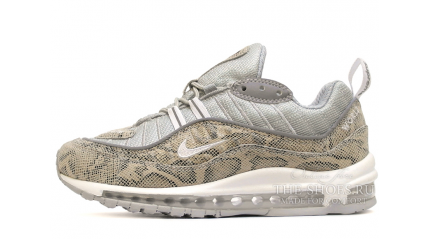 Air Max 97 КРОССОВКИ ЖЕНСКИЕ<br/> NIKE AIR MAX 97 SUPREME SNAKESKIN GRAY