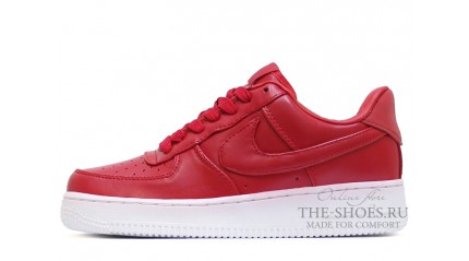 Nike Air Force 1 Low fury red Leather