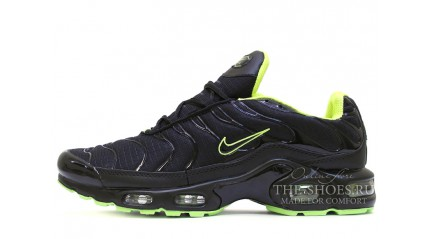 Air Max TN Plus КРОССОВКИ МУЖСКИЕ<br/> NIKE AIR MAX TN BLACK VENOM GREEN