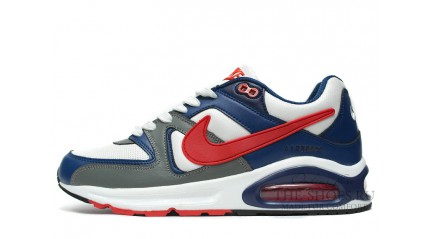 Nike Air Max Skyline White Blue Grey Red