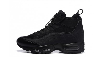Nike Air Max 95 Sneakerboot Black Murdered-Out