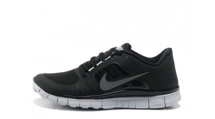Nike Free Run 5.0 Black Top White