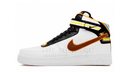 Кроссовки Air Force 1 Mid Givenchy Ricardo Tisci White Black