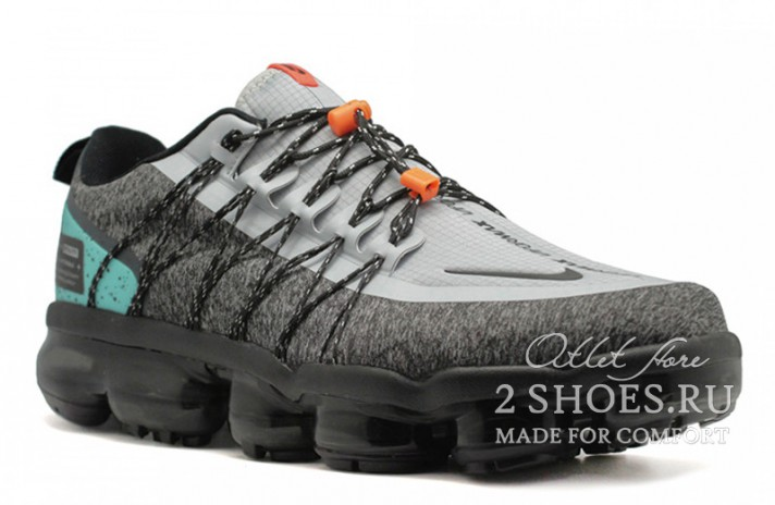 Nike Air VaporMax Utility Run NRG Gray Tropical Twist серые, фото 2