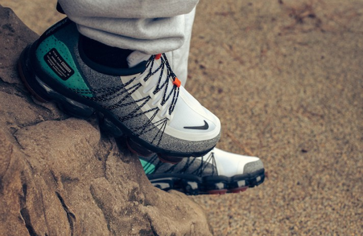 Nike Air VaporMax Utility Run NRG Gray Tropical Twist серые, фото 5
