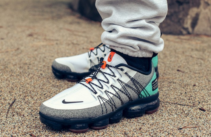 Nike Air VaporMax Utility Run NRG Gray Tropical Twist серые, фото 4