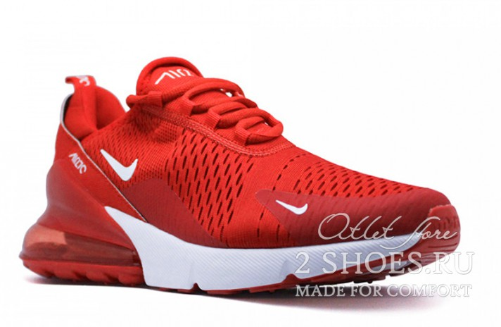 Nike Air Max 270 Red Full красные, фото 2