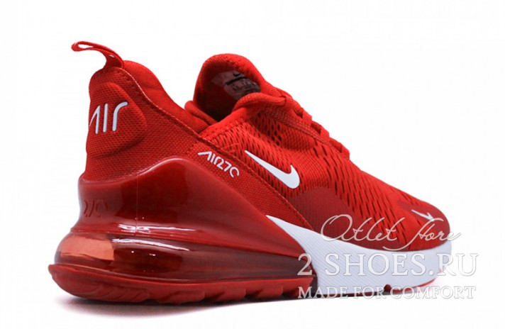 Nike Air Max 270 Red Full красные, фото 3