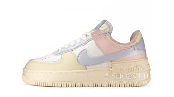 Кроссовки Женские Nike Air Force 1 Low Shadow Glacier Blue