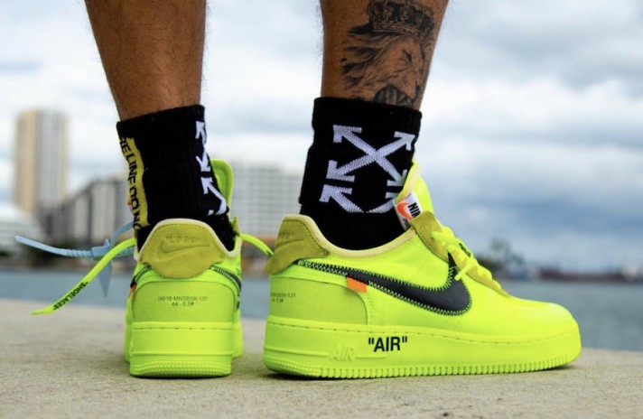 air force 1 volt off white release date