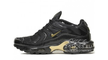 Кроссовки Мужские Nike Air Max TN Plus Black Gold Snake