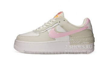 Кроссовки Женские Nike Air Force 1 Shadow Photon Dust Pink Foam