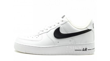 Кроссовки Мужские Nike Air Force 1 Low White Black