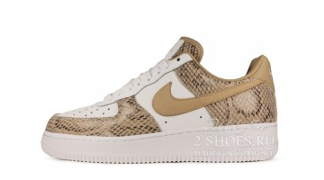 Кроссовки женские Nike Air Force 1 Low White Cocoa Snake