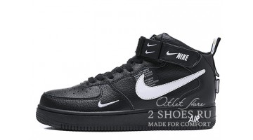 Кроссовки женские Nike Air Force 1 Mid LV8 Utility Winter Black