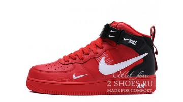 Кроссовки женские Nike Air Force 1 Mid LV8 Utility Winter Red