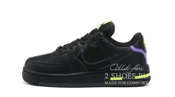 Кроссовки Мужские Nike Air Force 1 React Black Anthracite