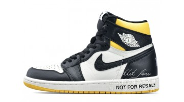 Кроссовки мужские Nike Air Jordan 1 Not for Resale Maize