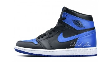 Кроссовки женские Nike Air Jordan 1 High Royal Blue Black