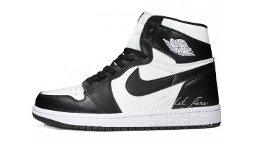 Кроссовки женские Nike Air Jordan 1 High Twist Black White