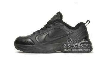 Кроссовки мужские Nike Air Monarch 4 (IV) Winter Triple Black
