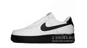 Кроссовки Мужские Nike Air Force 1 Low White Black Midsole