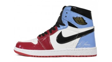 Кроссовки женские Nike Air Jordan 1 High Fearless UNC Chicago