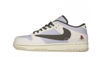 Кроссовки Мужские Nike Dunk SB Low Travis Scott Playstation