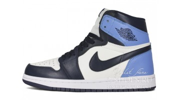 Кроссовки женские Nike Air Jordan 1 High Obsidian UNC