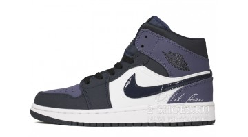 Кроссовки мужские Nike Air Jordan 1 Mid Sanded Purple