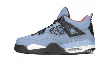 Кроссовки мужские Nike Air Jordan 4 Travis Scott Cactus Jack